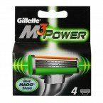 Кассеты Gillette Mach3 Power 4шт  Оригинал. Германия.