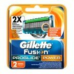 Кассеты Gillette Fusion Proglide Power 2шт  Оригинал. Германия.