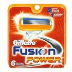 Кассеты Gillette Fusion Power 6шт