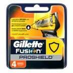 Кассеты Gillette Fusion ProShield 4шт  Оригинал. Германия.