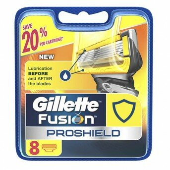 Кассеты Gillette Fusion ProShield 8шт