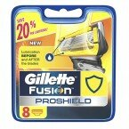Кассеты Gillette Fusion ProShield 8шт  Оригинал. Германия.