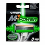 Кассеты Gillette Mach3 Power 8шт  Оригинал. Германия.